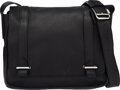 """Luxury Accessories:Bags, Hermès 30cm Black Clemence Leather Steve Bag with Palladium Hardware. Condition: 4. 11"""" Width x 9"""" Height x 3"""" Depth..."""