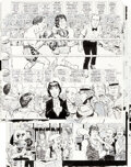 """Original Comic Art:Complete Story, Angelo Torres MAD #213 Complete 7-page """"Rocky"""" Story-Spoof """"Rockhead II"""" Original Art (EC Publ., 1980).... (Total: 7 Original Art)"""