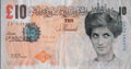 Collectible, After Banksy . Di-Faced Tenner, 10 GBP Note, 2005. Offset lithograph in colors on paper. 3 x 5-5/8 inches (7.6 x 14.3 cm...