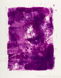 Prints & Multiples, Robert Rauschenberg (1925-2008). Flower Re-Run, from Reels (B+C), 1968. Lithograph in colors on Rives BFK paper. 23-...