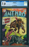 Silver Age (1956-1969):Adventure, Anthro #1 (DC, 1968) CGC FN/VF 7.0 OFF-WHITE TO WHITE pages.