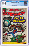 Silver Age (1956-1969):Superhero, The Amazing Spider-Man #32 (Marvel, 1966) CGC VF 8.0 Off-white to white pages....