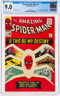 Silver Age (1956-1969):Superhero, The Amazing Spider-Man #31 (Marvel, 1965) CGC VF/NM 9.0 Off-white to white pages....