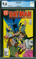 Modern Age (1980-Present):Superhero, Batman #409 (DC, 1987) CGC NM+ 9.6 White pages.