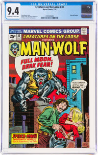 Creatures on the Loose #30 (Marvel, 1974) CGC NM 9.4 Off-white to white pages