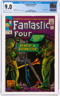 Silver Age (1956-1969):Superhero, Fantastic Four #37 (Marvel, 1965) CGC VF/NM 9.0 Off-white to white pages....