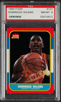 Basketball Cards:Singles (1980-Now), 1986 Dominique Wilkins #121 PSA NM-MT 8....