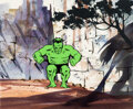 Animation Art:Production Cel, The Marvel Super Heroes Hulk Product...