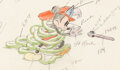 Animation Art:Color Model, Mickey's Fire Brigade Mickey Mouse C...