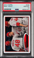 Baseball Cards:Singles (1970-Now), 2012 Topps Mike Trout #446 PSA Gem Mint 10....