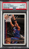 Basketball Cards:Singles (1980-Now), 1997 Topps Minted In Springfield Tracy McGrady #125 PSA Gem Mint 10....