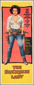 Movie Posters:Western, The Buckskin Lady (United Artists, 1957). Very Fine on Lin...