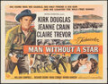 Movie Posters:Western, Man Without a Star (Universal International, 1955). Rolled...