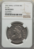 Bust Half Dollars, 1832 50C Small Letters, O-114, High R.4, -- Cleaned -- NGC Details. AU. Mintage 4,797,000. ...