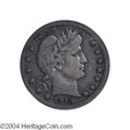 Barber Quarters: , 1913-S 25C VF20 PCGS. One of a mere 40,000 pieces struck, ...