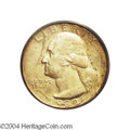 Washington Quarters: , 1932-S 25C MS65 PCGS. Sharply defined with smooth mint ...