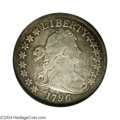 Early Half Dollars: , 1796 50C 15 Stars Fine 12 Details, Repaired, Improperly ...