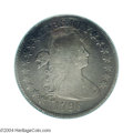 Early Half Dollars: , 1796 50C 16 Stars Fine Details, Plugged, NCS. O-102, R.6. ...