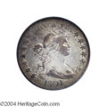 Early Half Dollars: , 1801 50C XF40 PCGS. O-101, R.3. The diagnostic of the ...