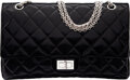 Luxury Accessories:Bags, Chanel Black Distressed Quilted Patent Leather 2.55 Reissue - 277 Double Flap Bag with Silver Hardware. Condition: 4. ...