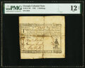 Colonial Notes:Georgia, Georgia 1762 5 Shillings Native American Fr. GA-40b PMG Fine 12 Net.. ...