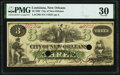 Obsoletes By State:Louisiana, New Orleans, LA- City of New Orleans $3 circa 1862 PMG Very Fine 30.. ...