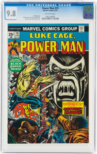 Power Man #19 (Marvel, 1974) CGC NM/MT 9.8 Off-white pages