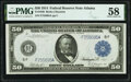 Large Size:Federal Reserve Notes, Fr. 1046 $50 1914 Federal Reserve Note PMG Choice About Unc 58.. ...