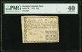 Colonial Notes:Georgia, Georgia 1776 Fractional Denominations $1/2 Fr. GA-70 PMG Extremely Fine 40.. ...