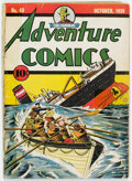 Golden Age (1938-1955):Superhero, Adventure Comics #43 (DC, 1939) Condition: FR....