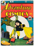 Golden Age (1938-1955):Superhero, Adventure Comics #55 (DC, 1940) Condition: VG-. Ho...
