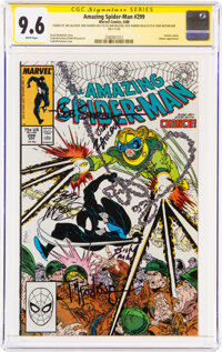 The Amazing Spider-Man #299 (Marvel, 1988) CGC NM+ 9.6 White pages