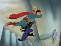Animation Art:Production Cel, Superman (The Mad Scientist) Product...