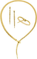 Estate Jewelry:Suites, Gold Jewelry Suite, Elsa Peretti for Tiffany & Co.