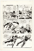 Original Comic Art, Frank Robbins - Unpublished Batman Anti-Drug Story Page Original Art (DC, 1974 )....