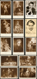 """Movie Posters:Science Fiction, Metropolis (UFA, 1927). Very Fine. German Postcards Full Set of 12 & Autographed Postcards (2) (3.5"""" X 5"""").. ... (Total: 14 Items)"""