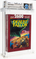 Video Games:Atari, Desert Falcon - Wata 9.2 A Sealed [1988 Red box], 2600 Atari 1987 USA. ...