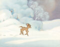 Animation Art:Production Cel, Bambi Bambi Production Cel and Prese...