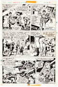 Original Comic Art, Frank Robbins and Vince Colletta Marvel Chillers #4 Story Page 6 Original Art (Marvel, 1976)....