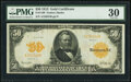 Large Size:Gold Certificates, Fr. 1199 $50 1913 Gold Certificate PMG Very Fine 30.