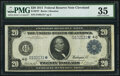 Large Size:Federal Reserve Notes, Fr. 978* $20 1914 Federal Reserve Note PMG Choice Very Fine 35.. ...