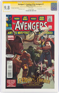 Modern Age (1980-Present):Superhero, Avengers 1: Coming of the Avengers #1 El Capitan Theatre Edition - Signature Series: Stan Lee and John Romita Jr. (Marvel, 201...