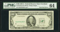 Error Notes:Foldovers, Foldover Error Fr. 2170-D $100 1981A Federal Reserve Note. PMG Choice Uncirculated 64.. ...