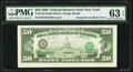 Error Notes:Third Printing on Reverse, Third Printing on Back Error Fr. 2123-B $50 1988 Federal Reserve Note. PMG Choice Uncirculated 63 EPQ.. ...