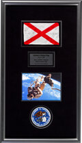 Explorers:Space Exploration, Gemini 4 Flown Alabama State Flag Originally from the Pers...