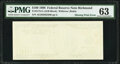 First Print Missing Error Fr. 2175-E $100 1996 Federal Reserve Note. PMG Choice Uncirculated 63