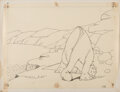 Animation Art:Production Drawing, Winsor McCay Gertie the Dinosaur...