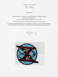 Explorers:Space Exploration, Gemini 10 Flown Embroidered Mission Insignia Patch, One of...