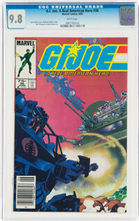 G. I. Joe, A Real American Hero #36 (Marvel, 1985) CGC NM/MT 9.8 White pages