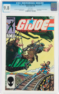 Modern Age (1980-Present):War, G. I. Joe, A Real American Hero #37 (Marvel, 1985) CGC NM/MT 9.8 White pages....